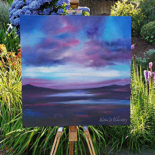 Mid Summers Night Painting