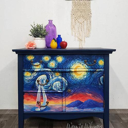 Van Gogh Inspired Washstand