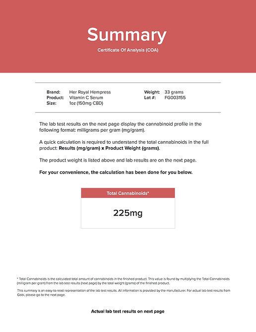 022120C COA Gobi - HRH Vitamin C Serum L