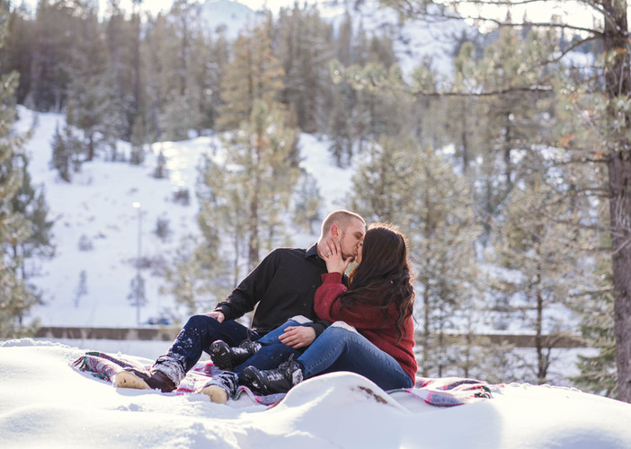 Engagement Snow Pics