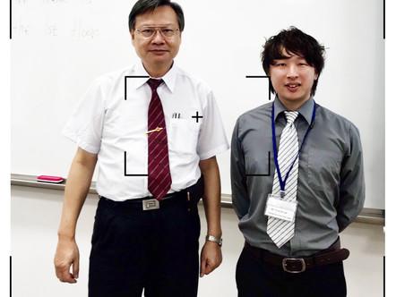 勝宏不斷發表學術論文、期刊,精益求精!