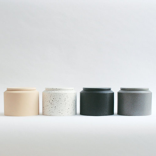 IBSEN 15 cm jar with lid