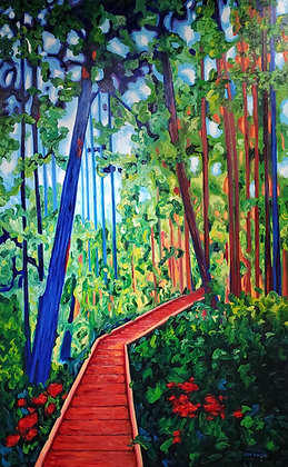 Into the Woods by Lisa Wolfin