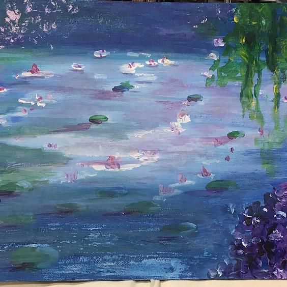 Paint your own Monet
