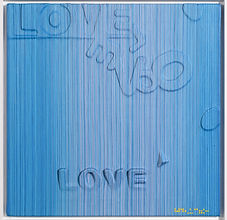 Love Letter1834  50x50cm  Thread Resin o