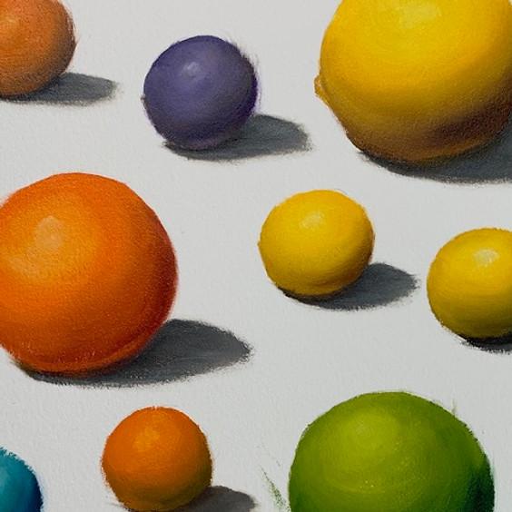 Colour Mixing Art Class