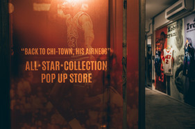 """""""Back to Chi-Town, His Airness"""" Pop Up Store"""