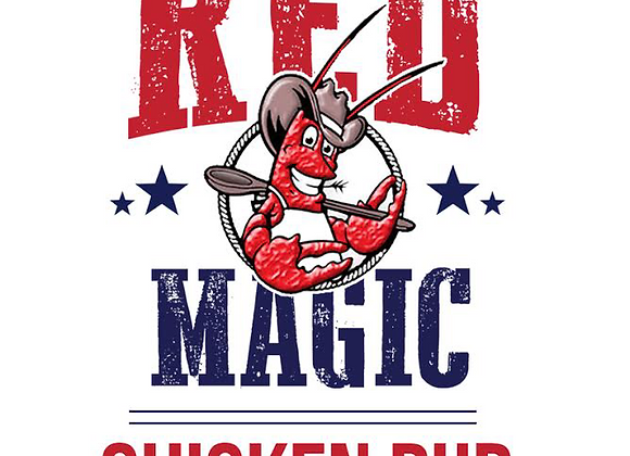 Cajun Cowboy Red Magic Chicken Rub