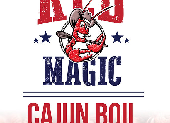 Red Magic Spicy Cajun Boil Mix