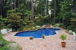 Freeform liner pool 24 Mountain Lake