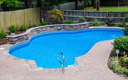 Freeform liner pool 10a Sierra