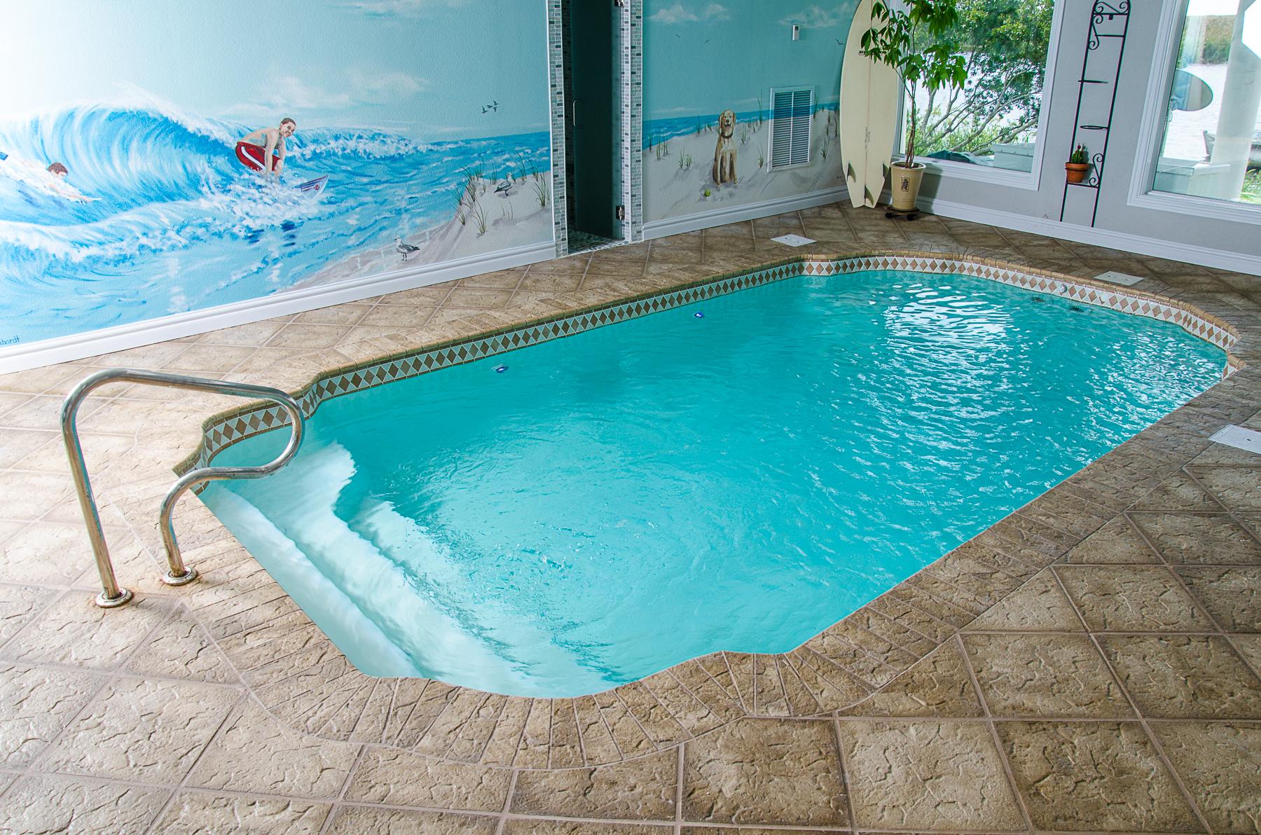 Sun fiberglass pool 1