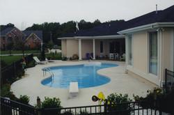 Freeform liner pool 16 Lagoon
