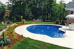Humback Kidney liner pool 3