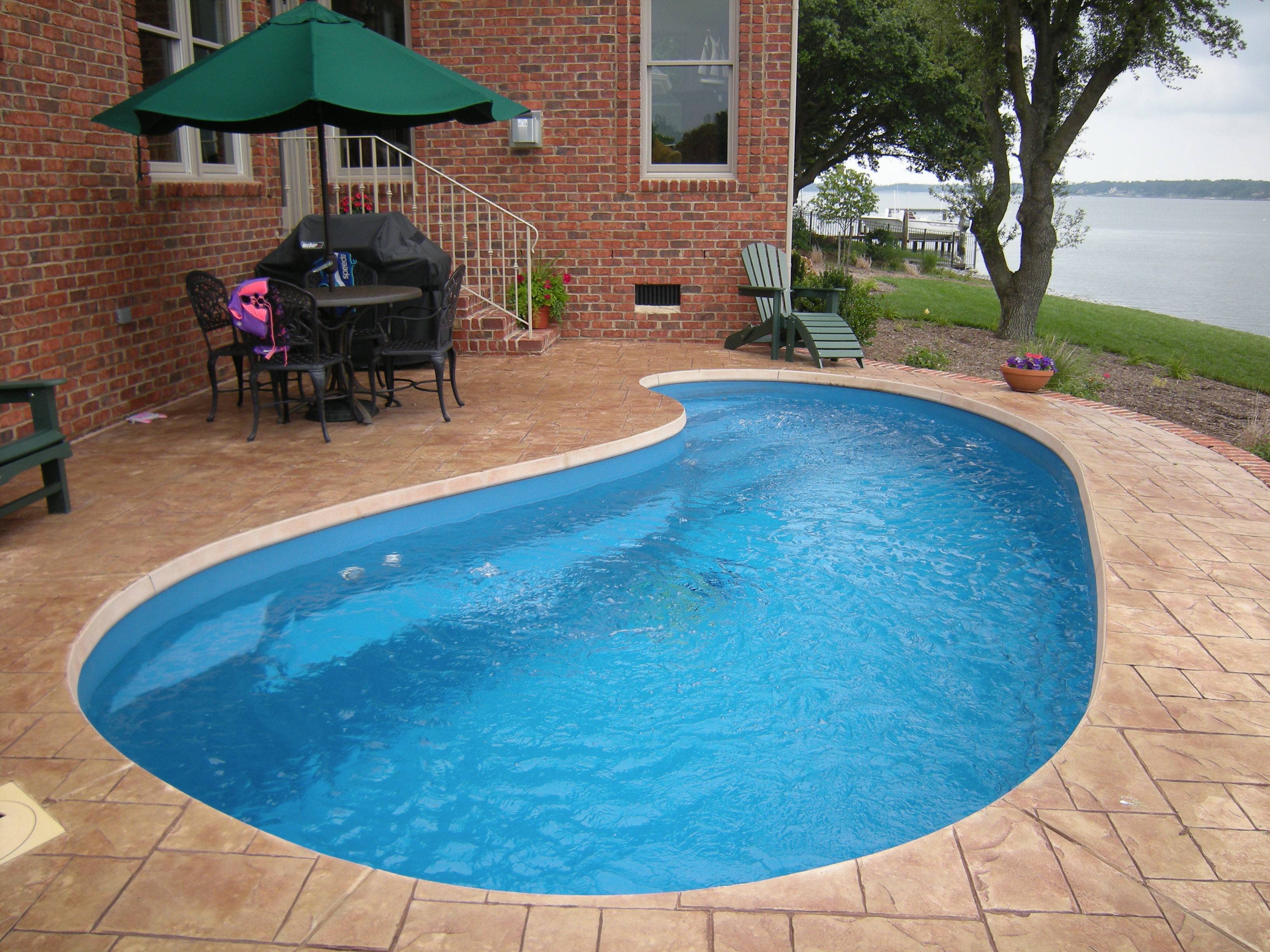 Barrier Reef fiberglass pool Opal 1