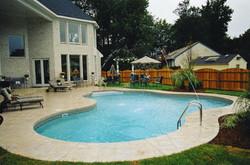 Freeform liner pool 21 Lagoon