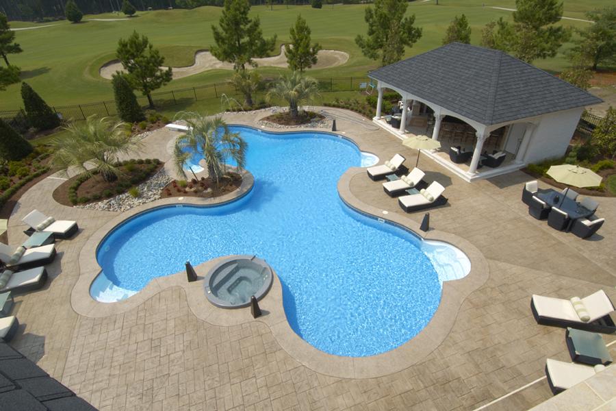 Freeform liner pool 1