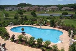 Freeform liner pool 18 Lagoon