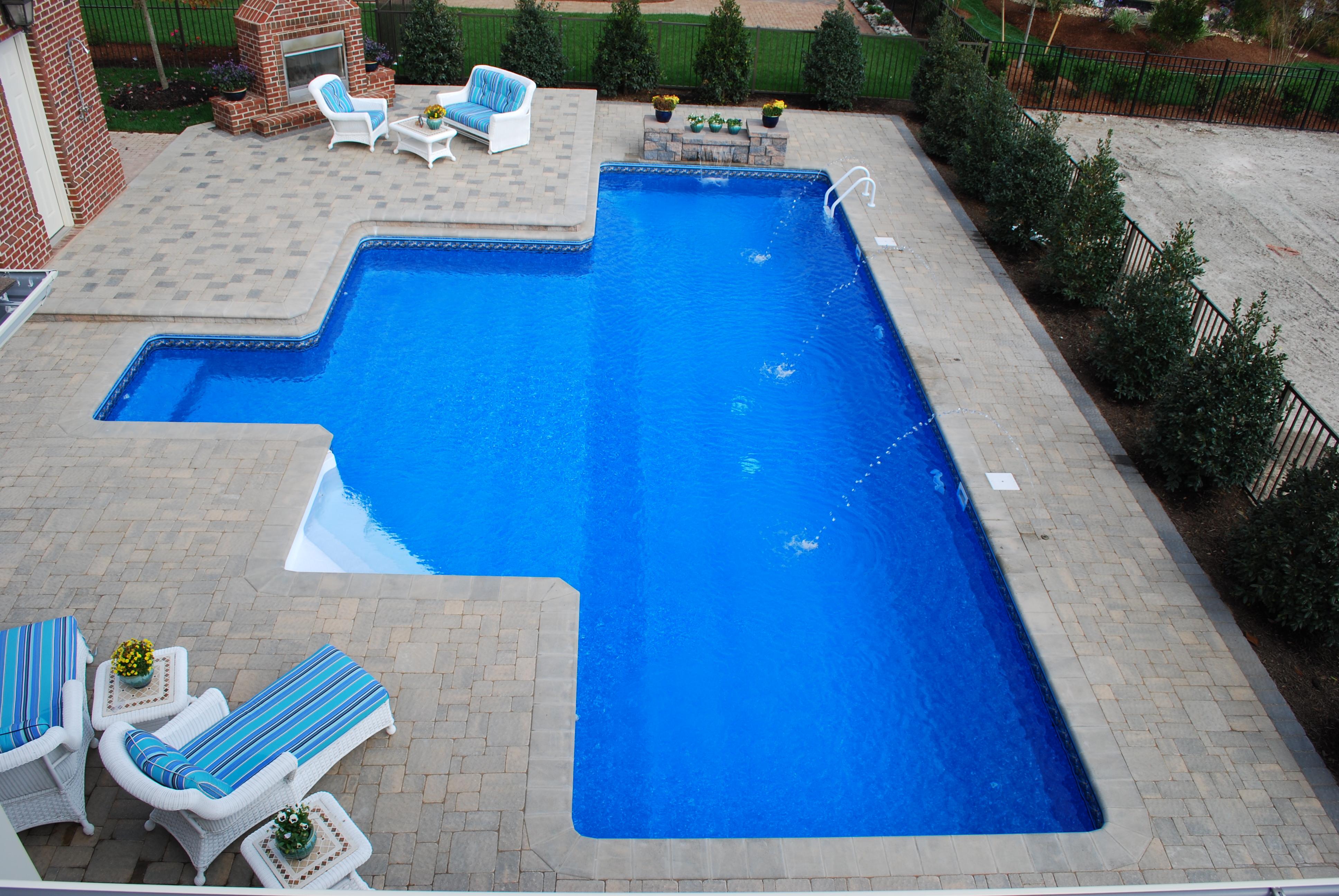 Geometric Liner pool Lap pool 1