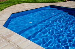 Rectangle liner pool 8c