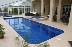 Barrier Reef fiberglass pools Grande 1a