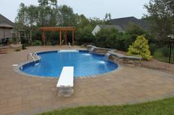 Freeform liner pool 14a Sierra