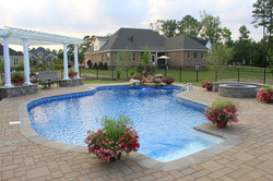 Freeform liner pool 26 Riviera