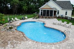 Freeform liner pool 8 Sierra