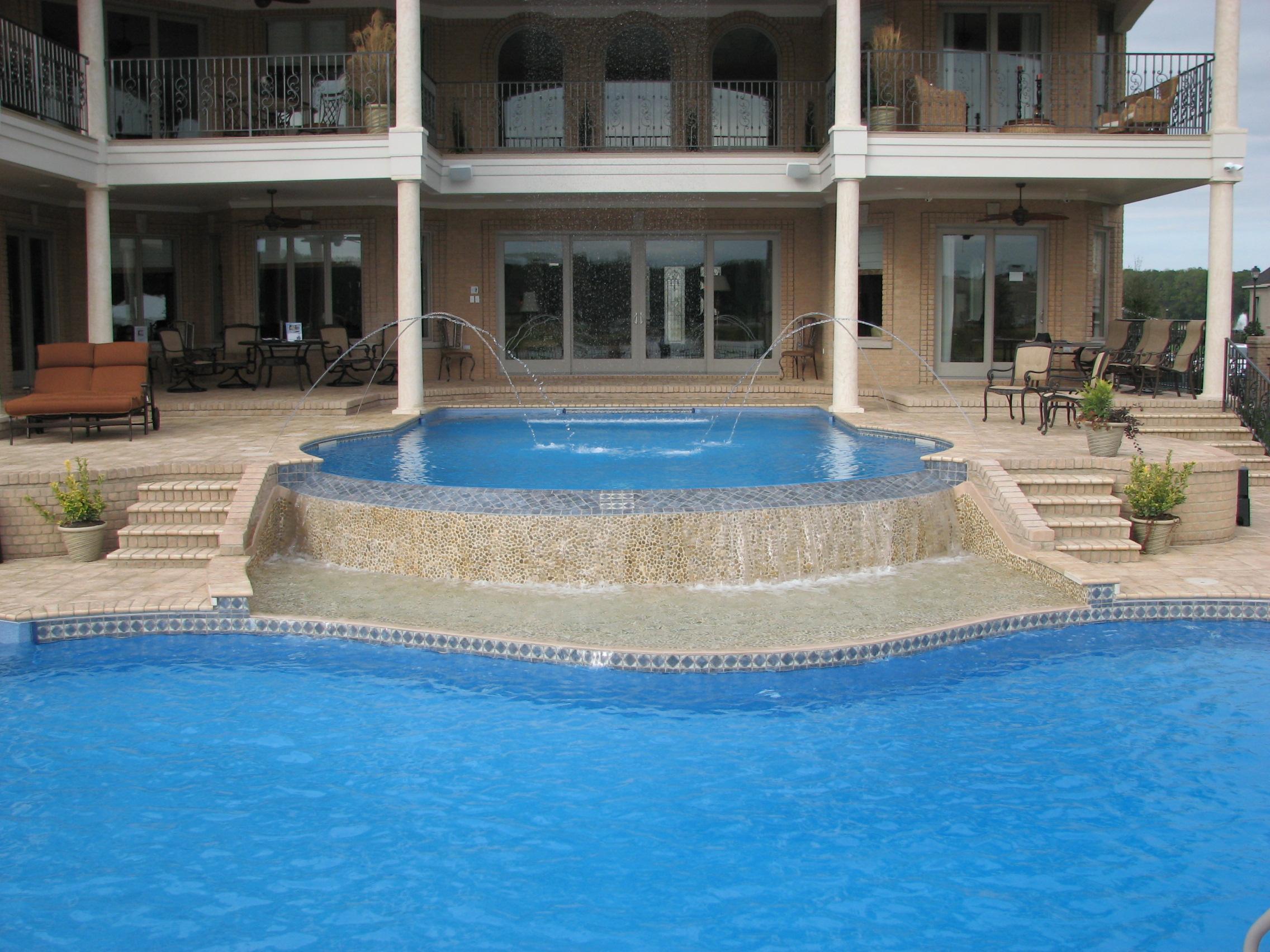 Freeform liner pool 2d
