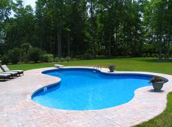 Freeform liner pool 12a Lagoon