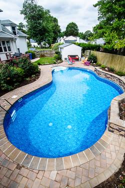 Freeform liner pool 10c Sierra