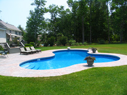 Freeform liner pool 12 Lagoon