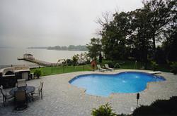 Freeform liner pool 25 Mountain Lake