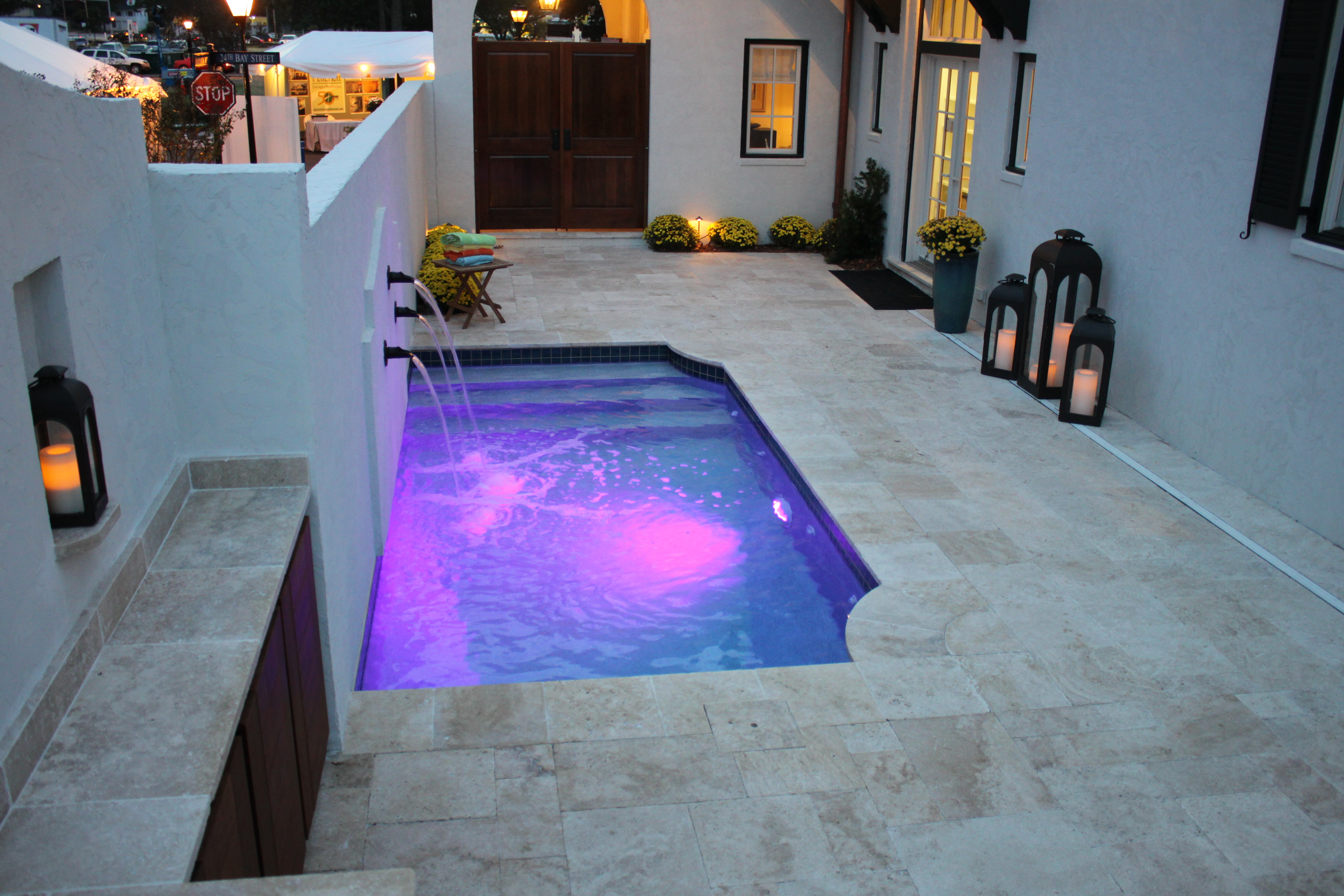 Patio pool 3