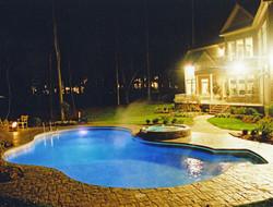 Freeform liner pool 27 Sierra