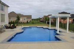 geometric liner pool 12