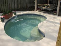 Barrier Reef fiberglass pool Pixie 1
