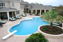 Freeform liner pool 9
