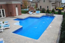 Geometric Liner pool Lap pool 1b