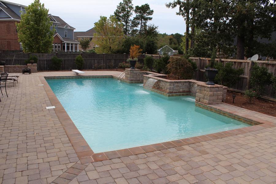 geometric liner pool 11