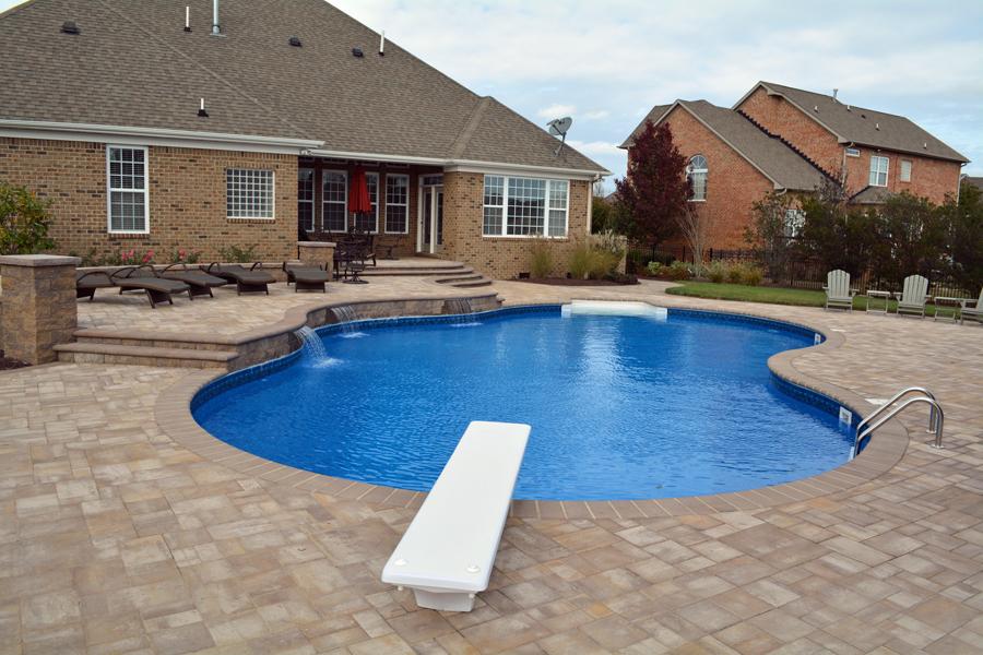 Freeform liner pool 6 Sierra