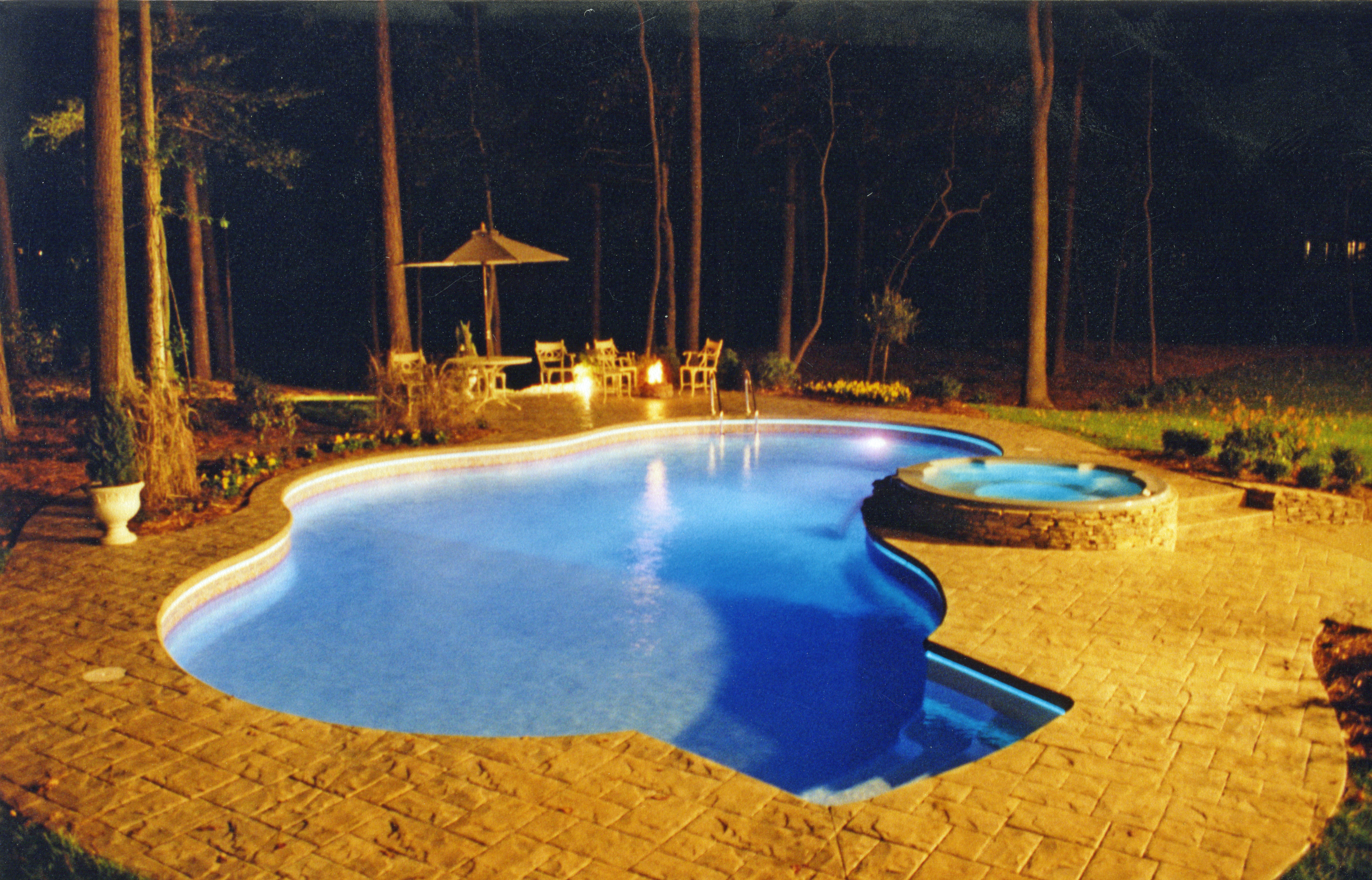 Freeform liner pool 27a Sierra a