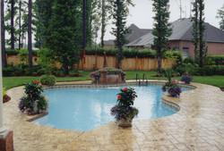 Freeform liner pool 15 Lagoon