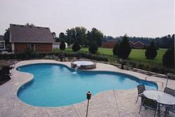 Freeform liner pool 23 Lagoon