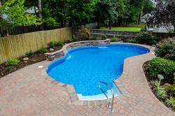 Freeform liner pool 7 Sierra