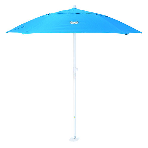 dig-git Market Beach Umbrella w/Integrated Anchor