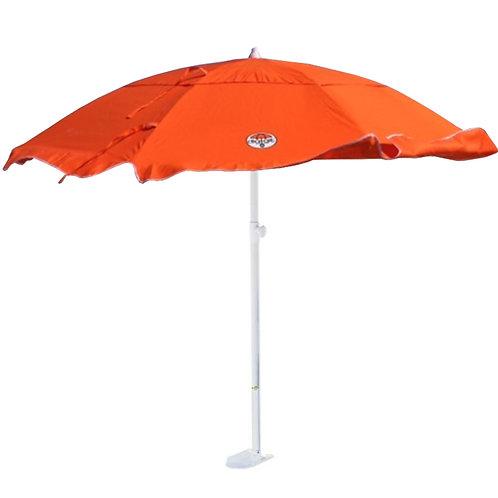 Orange dig-git Beach Umbrella and Anchor
