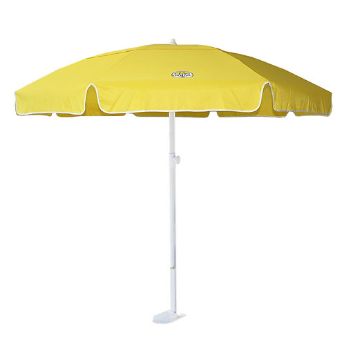 Yellow dig-git Beach Umbrella and Anchor