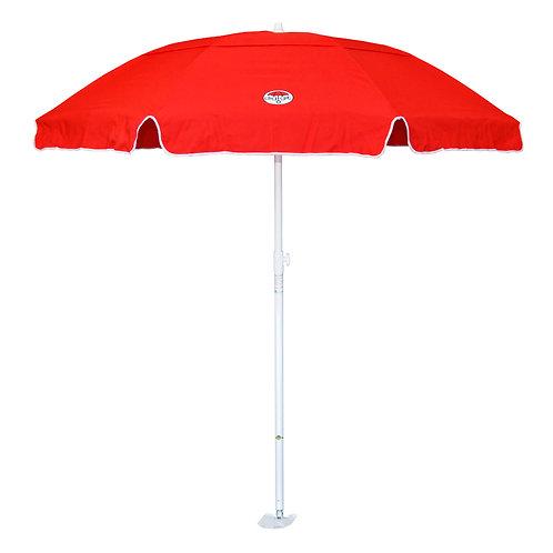 Red dig-git Beach Umbrella and Anchor