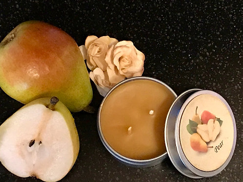 Pear Beeswax Candle
